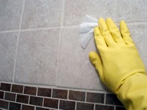 Профессиональная чистка плитки